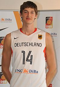 German basketball talent Tibor Pleiss