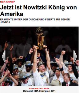 "Germany, Würzburg await return of NBA champion son ""King of America"" Nowitzki"