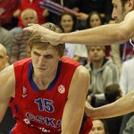 Andrei Kirilenko in action for CSKA Moscow - Photo by CSKA Moscow