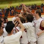 Regensburg Baskets celebrate another victory - Photo by Ed Cornejo