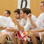 The Regensburg Baskets will need help from their bench players to beat DJK Eggolsheim - Photo by Ed Cornejo