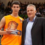 Paul ZIpser is one of Germany's top talent. He was at Game One of the BBL Finals in Bamberg - Here are NBBL All-Star Game, photo by Ulf Duda