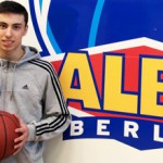 German U18 talent Ismet Akpinar joins Alba Berlin on a four-year deal from ProB club Rist Wedel and NBBL side Piraten Hamburg - photo from Alba Berlin