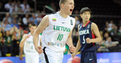Edvinas Seskus looking for success at the national team level for Lithuania
