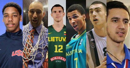 Jahlil Okafor, Shaka Smart, Denis Krestinin, Dante Exum, Nikola Milunitov and Vasilje Micic talk to heinnews's David Hein about the 2013 FIBA U19 World Championship.