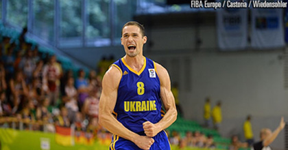 Sergiy Gladyr had a great 2013 and now the Ukrainian international is hoping for another great year in 2014 - photo from FIBA Europe.
