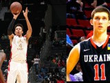 Josh Steel from England and Ukraine's Sviatoslav Mykhailiuk both talk about the U18 European Championship (A and B, respectively) as well as playing in the United States.