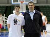 Marko Arapovic and his father Franje - Marko is part of an on-going golden Croatian generation. Photo by Jurica Galoic PIXSELL