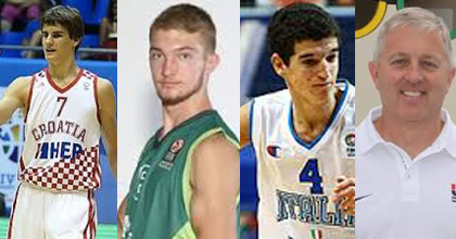 Interview bash this week! Dragan Bender, Domantas Sabonis, Federico Mussini and Don Showalter - talking U18 European Championship and 2014 FIBA U17 World Championship.