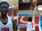 Caleb Swanigan of the United States and Greece's Antonis Koniaris were two of the big-time players at the 2014 FIBA U17 World Championship.