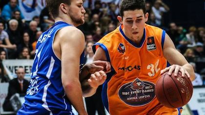 Angelo Caloiaro (here with MBC) finished last season as the most efficient player in the German Beko BBL. But can he deal with heinnews' David Hein's questions?