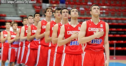 The Croatia national teams have signed a long-term deal with Jordan brand. Picture by FIBA Europe