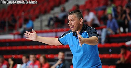 Ilias Papatheodorou coached Greece to the semi-finals of the 2014 U18 European Championship. Now he hopes to lead them at least that far at the 2015 FIBA U19 World Championship - Photo from FIBA Europe