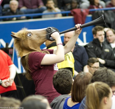 You have to give it to Ottawa Gee Gees fans - they do have some creativity. Photo Paul S. Hendren