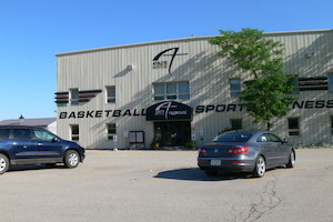 The field house at Athlete Institute - photo by Athlete Institute