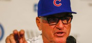 Joe Maddon is the new man in charge of the Chicago Cubs. Now he's on Taking The Charge. Photo - EPA/Tannen Maury