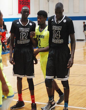 The presence of Matur and Thon Maker (left, right) changed things for Orangeville Prep - Photo by Steve Helwagen