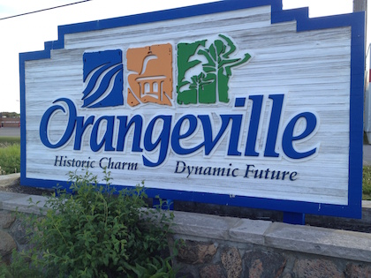 The town motto says it all for Orangeville