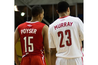 Jalen Poyser and Jamal Murray - photo by Jeffrey Ace Fulgar - NPH