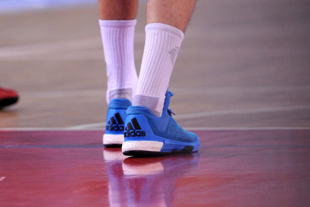 The shoes that shocked the basketball world - Photo by Christian De Massis/FIBA