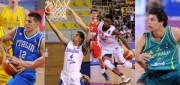 Diego Flaccadori, Yerri Flores, Harry Giles and William McDowell-White are fighting for the podium at the 2015 FIBA U19 World Championship. Listen to them talk to Taking The Charge.  Photos by FIBA.com