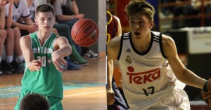 Blaz Mesicek and Luka Doncic will make a powerful combination for years to come for the Slovenian national team. Many believe Doncic will never play for his home land but line up for Spain instead. Mesicek is confident his fellow basketball star prospect will don the Slovenian jersey - maybe as early as next summer.
