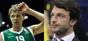 Mindaugas Kuzminskas of Unicaja Malaga and Darussafaka Dogus sporting director Mithat Demirel join Taking The Charge.