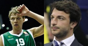 Mindaugas Kuzminskas of Unicaja Malaga and Darussafaka Dogus sporting director Mithat Demirel join Taking The Charge.