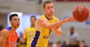 Marcel Ponitka in action for Montverde Academy - Photo by Dave Roback - The Republican