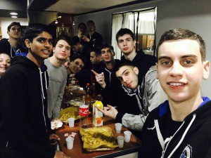 India's top young talent Harsh Tomar shares his 15th birthday with his Stellazzurra Basketball Academy Rome teammates. - Photo Stellazzurra's Facebook account