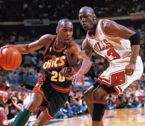 Gary Payton was a menace on defense, earning the nickname the Glove.