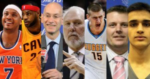 Taking The Charge goes to Toronto for the NBA All Star weekend and got audio from Carmelo Anthony, LeBron James, Adam Silver and Gregg Popovich as well as interviews with Nikola Jokic, Brooks Meek and Ömer Yurtseven.
