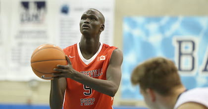 Matur Maker is growing out of the shadow of his brother Thon to become a serious talent as well.