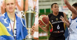 Dzanan Musa and Nelson Weidemann were two of the top players at the Adidas Next Generation Tournament in Belgrade.