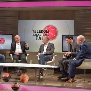 The leaders in German basketball discuss the state of the game in Germany - photo Telekombasketball.de