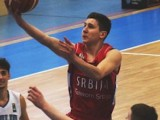 Aleksa Uskokovic drives to the lane against Italy for Serbia, who got the overtime win to reach the final of the 2016 Albert Schweitzer Tournament. Photo DBB