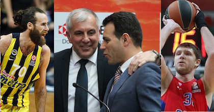 Luigi Datome, Zeljko Obradovic, Dimitris Itoudis and Viktor Khryapa all are on Taking The Charge this week from the 2016 Euroleague Final Four.