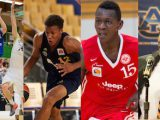 Niklas Kiel, Louis Olinde, Isaac Bonga and Bruce Pearl talk to Taking The Charge. Kiel and Bonga photos by Dennys Sidjabet
