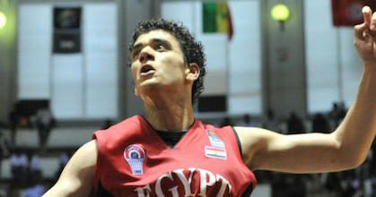 Assem Marei is already one of the leaders of the Egyptian national team at 24 years of age. He's in the process of becoming a leader at medi bayreuth