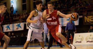 Moritz Sanders (here playing for Brose Bamberg) hopes to take the next step with Nurnberg Falcons.