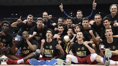 Will Barcelona be celebrating again like they did at the end of the 2015-16 Adidas Next Generation Tournament.