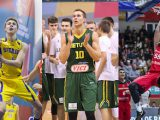 Olle Lundqvist of Sweden, Tadas Sedekerskis of Lithuania and Germany's Isaiah Hartenstein are starring at FIBA U18 European Championship 2016. Here what they have to say. Photos FIBA Europe