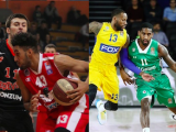 Jonah Bolden is battling as a professional rookie with FMP while Brad Wanamaker has shown his goods and is nearing the NBA. Both talk to Taking The Charge. Pictures from ABA and EuroLeague