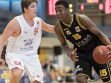 Ariel Hukporti is highly regarded in the German basketball world. There is a lot of potential there. But what can he do now? - Photo courtesy of Porsche BBA Ludwigsburg