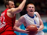Aaron White (left) is on his way to become one of the top players in Europe with Zenit St. Petersburg. Photo from Zenit
