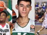 Oshae Brissett of Athlete's Institute, Georgios Kalaitzakis of Panathinaikos and Sofiane Briki of CFBB come on Taking The Charge to talk hoops.