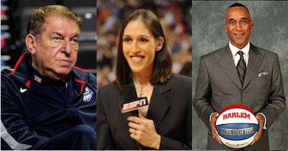 Jerry Colangelo, Rebecca Lobo and Mannie Jackson talk about the Naismith Hall of Fame