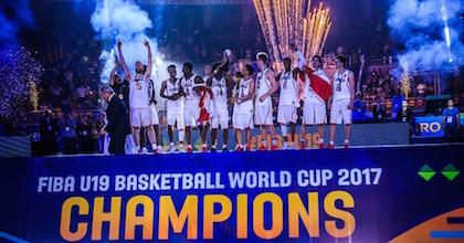 Canada are champions of the FIBA U19 Basketball World Cup 2017 - photo by FIBA