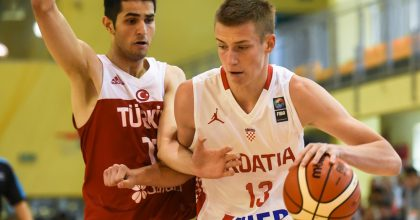 Luka Samanic will try to get Croatia back up to Division A at the FIBA U18 European Championship 2017, Division B.