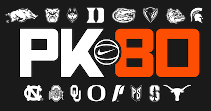 College headliners to honor Knight at PK80 Invitational